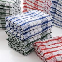 promotional 100% cotton plain coloured tea towel cheap dish towel /kitchen towel Bulk
