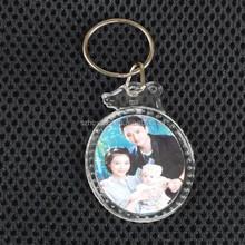 Custom acrylic crystal keychain wholesale