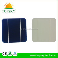 Sharp 125*125 monocrystalline silicon,2bb solar cell with perfect out-appearance