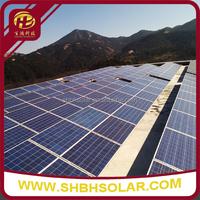 N Series Ground Steel Solar Panel Generator Bracket