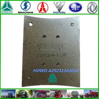 SINOTRUK HOWO truck brake part brake lining AZ9231342018