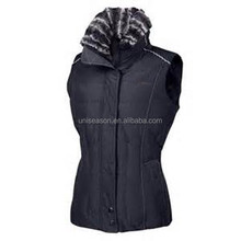 simple heavy winter padding gilet