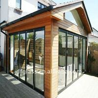 Exterior glass door