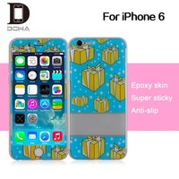 Mobile phone gel skin sticker for iPhone