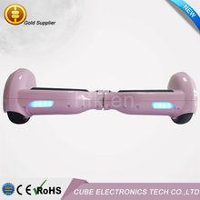 White Pink 5 colors Electric smart balance 2 wheel self balancing board scooter China Factory Hot sale in 2015