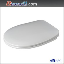 Top fix toilet seat with soft close function