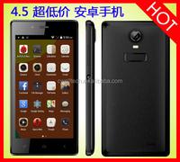 Good Price 5.0MP Camera Dual SIM Card Dual Core 3 Colors 4.5 Inch China oem smartphone unlock
