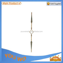 New Style Wrought Iron Products,Ornamental Forged Iron component,Wrought Component-6113