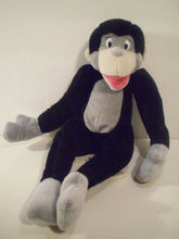 China lovely brown monkey sock doll