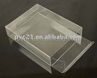 Clear Hard PVC Plastic Folding Box Pack For Bed Sheet