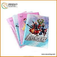 Customized Transparent PVC Book Cover/Plastic Book Cover