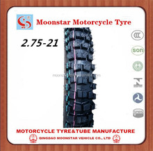 New Product China Motorcycle Tire 2.75-21
