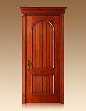 Wood plastic door with competitive price KFW-2730