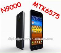 New Arrival 3G WCDMA mobile phone star N.9000 5.0inch capacitive screen android 4.0 MTK6575 CPU Cortex A9 1GHz 512m