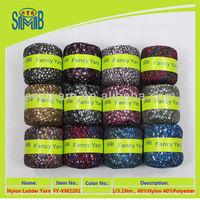 factory direct sale 3.1Nm fancy ladder knitting yarn