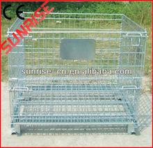 Fold steel storage cage