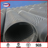 Manufacture Stainless Filter Spiral Welded Steel Bridge Slot Screen Well