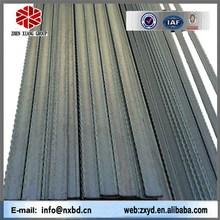 black & galvanized steel gratings/serrated i type bar