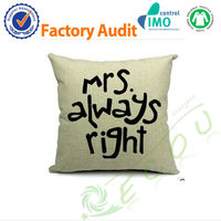 Mrs. Always Right 100% Cotton Car Seat Cushion