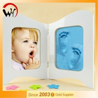 2015 home decorative unique gift footsprints baby photo