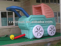 New design Holland traditional inflatable Baby Carriage balloon, buggy car,Cartoon for sale advertising