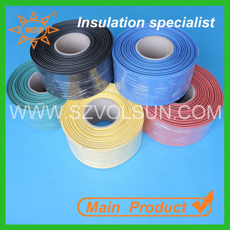 Low Voltage Tubing : Low voltage red switchgear insulative heat shrinkable