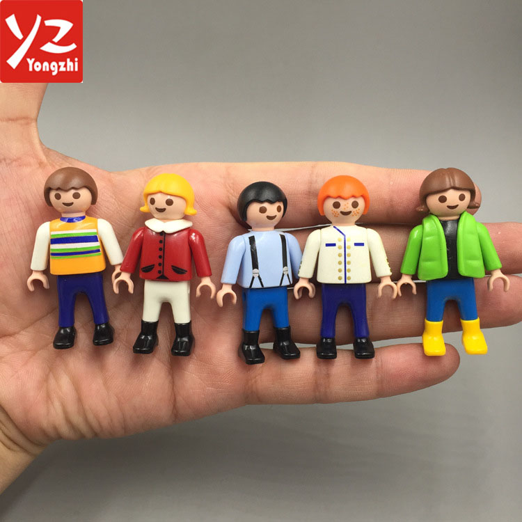 ICTI Approuvé Usine Custom Made 5 cm Hauteur Playmobil Figurines Jouets pour Enfants