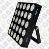 night club wall decor led disco bar 25pcs * 9w rgb 3in1 5x5 led matrix, led pixel strip