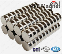 "permanent type industrial application 1/2"" x 1/8"" N40 Neodymium magnet"