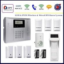 GSM alarm system home security, home security system GSM alarm