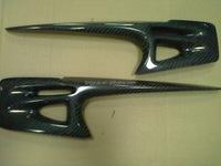 Carbon Fiber Light brow Designed for Mitsubishi Lancer EX