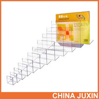 Customized Clear Acrylic acrylic menu display holder acrylic picture photo display stand