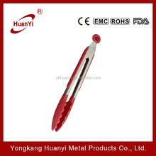 stainless steel kitchen similar silicone rubber tong