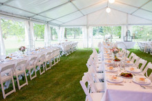 Manufacturer of different designs and sizes Marquee Tents