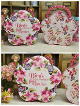 payment asia alibaba china X'mas tin box/wedding tin box/tea flower BOX