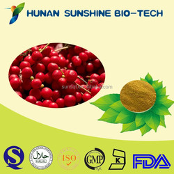 Factory Supply Pesticides Free Schisandra Fruit P.E. Powder 2% Schisandrins & 1% Schisandrin A