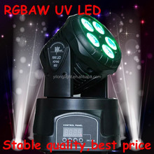 cheap and high quality 6 IN 1 RGBAW UV dmx moving head show light