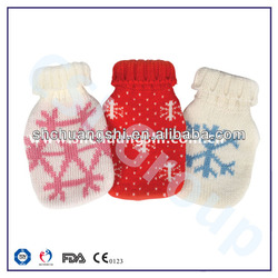 knitted cover hot pack