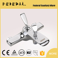Bathroom Faucet Accessories Type and Chrome Surface Finishing Handheld shower bath