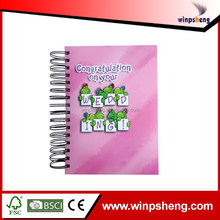 Special Supply Spiral Notebook With Color Pages For Supermarket
