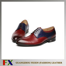 Wholesale lace wedding dress leather shoes for men