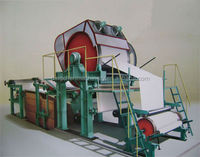 1760mm tissue paper production line of nice quality from Dingchen Machinery