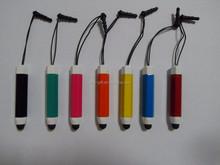 Marca hexagonales pluma del tacto del metal Iegami marca mini stylus pen touch pens fábrica del OEM mini pluma de la aguja para el smartphone