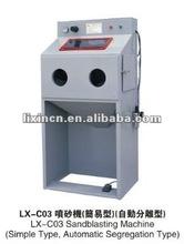 máquina de chorreo de arena / arenado especial Para molde metalico de grabador CNC (tipo simple o segregación)