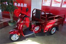 100cc china motorized cargo tricycle for elder transportation