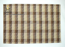 PVC Multicolor Wide Stripe Placemat