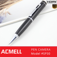 2014 NEW HDMI + Motion Detection Sensor 1080p full hd mini hidden pen camera pen