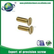 High Precision DIN963 Slotted countersunk flat head screws