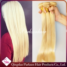 2015 Hot Sale 100% Remy Human Hair Factory Price Honey Blonde Brazilian Hair Weave