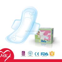 Regular/Super/Overnight/Maxi wholesale lady anion sanitary napkin feminine herbal sanitary pads medical tampon with wings